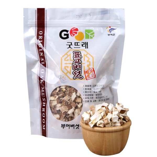 유기농 건표고버섯 버섯칩 150g/굿뜨래