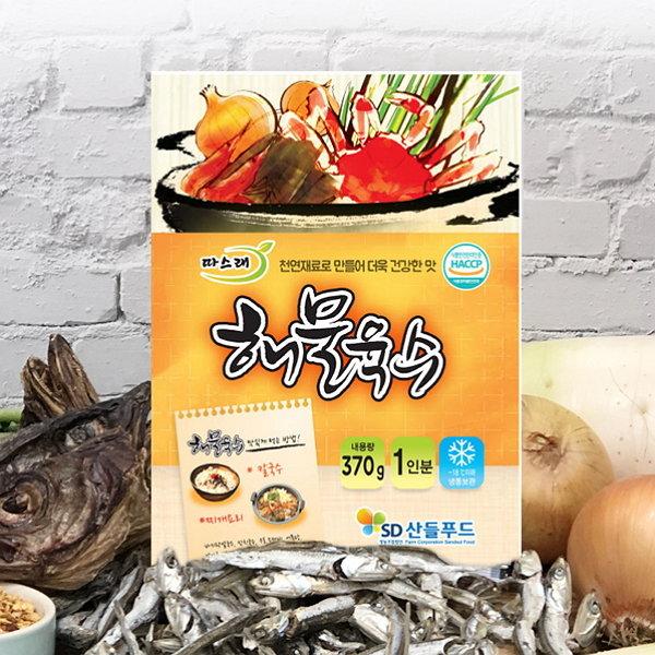 해물육수 370gx5봉(5인분) / HACCP