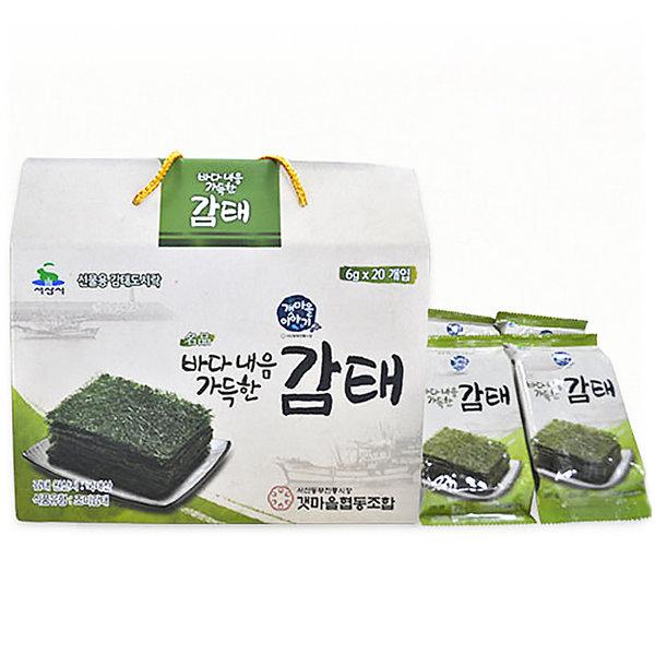 구운 조미 감태 20봉세트/소포장/선물용