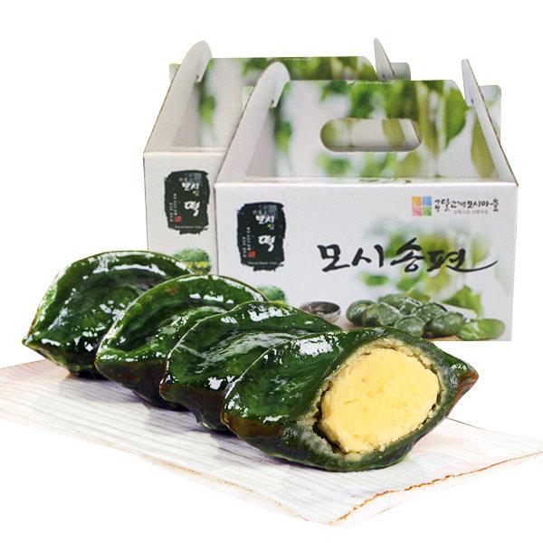월산리영농 모시 송편 1.2kgx2팩(25개+25개)