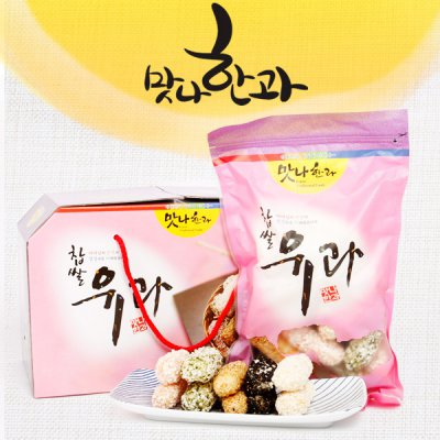 굿뜨래 오색 유과 600g(200g*3개)