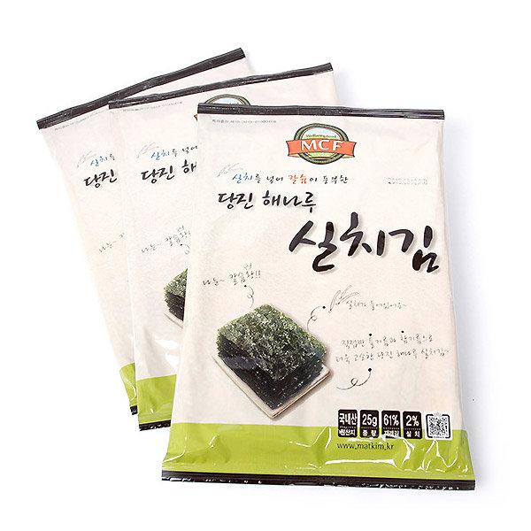 명천맛김 재래김 김 실치김 25gx10봉 해나루전장김