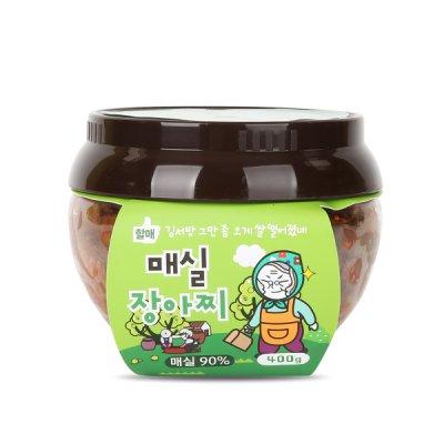 당진할매가 만든 매실장아찌 400g/올미원