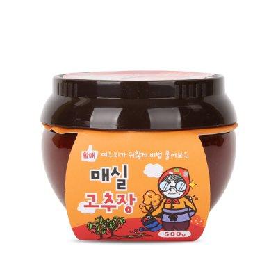 당진할매가 만든 매실고추장 500g/올미원/당진왕매실